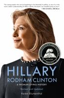 Cover image for Hillary Rodham Clinton : a woman living history