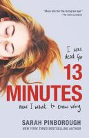 Cover image for 13 minutes : a novel