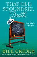 Cover image for That old scoundrel death : A Dan Rhodes mystery