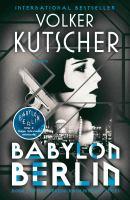 Cover image for Babylon Berlin