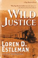 Cover image for Wild justice