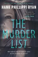 Cover image for The murder list : a novel