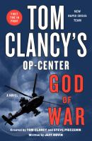 Cover image for Tom Clancy's Op-Center. God of war