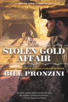 Cover image for The stolen gold affair
