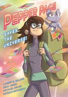 Cover image for Pepper Page saves the universe!