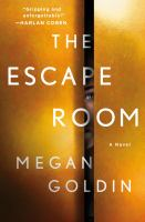 Cover image for The escape room : a novel