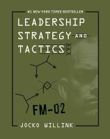 Cover image for Leadership strategy and tactics : field manual