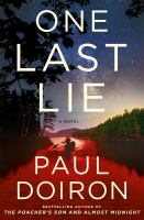 Cover image for One last lie : a novel