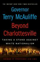 Cover image for Beyond Charlottesville : taking a stand against white nationalism
