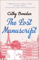 Cover image for The lost manuscript