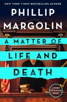 Cover image for A matter of life and death