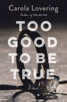 Cover image for Too good to be true : a novel