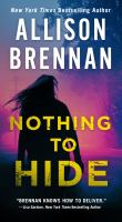 Cover image for Nothing to hide