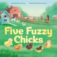 Cover image for Five fuzzy chicks