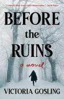 Cover image for Before the ruins : a novel