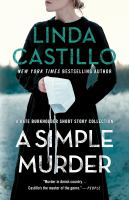 Cover image for A simple murder : a Kake Burkholder short story collection