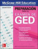 Cover image for McGraw Hill Education preparación para el examen de GED