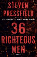 Cover image for 36 righteous men : a novel