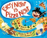 Cover image for Every night is pizza night