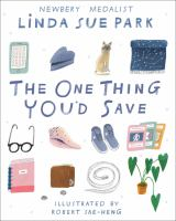 Cover image for The One Thing You'd Save