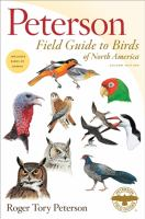 Cover image for Peterson field guide to birds of North America