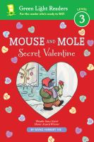 Cover image for Mouse and Mole, secret valentine