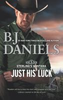 Cover image for Just his luck