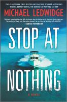 Cover image for Stop at nothing : a novel