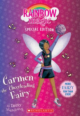 Cover image for Carmen the cheerleading fairy