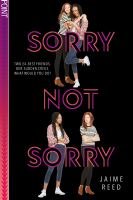 Cover image for Sorry not sorry