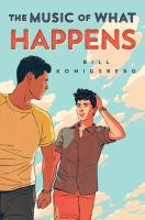 Cover image for The music of what happens
