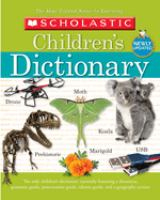 Cover image for Scholastic children's dictionary.