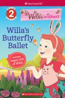 Cover image for Willa's butterfly ballet