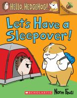 Cover image for Let's have a sleepover!