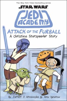 Cover image for Attack of the furball : a Christina Starspeeder story