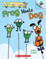 Cover image for Frog meets dog