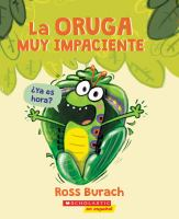 Cover image for La oruga muy impaciente