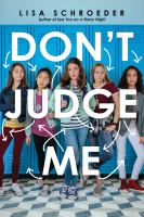 Cover image for Don't judge me