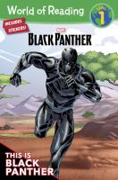 Cover image for This is Black Panther!
