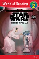 Cover image for A leader named Leia