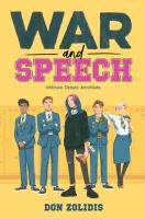 Cover image for War and speech