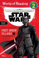 Cover image for Star Wars : First Order villains