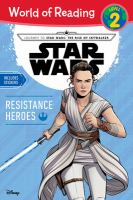 Cover image for Star Wars : resistance heroes
