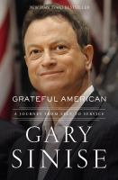 Cover image for Grateful American : a journey from self to service