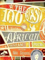 Cover image for The 100 best African American poems : (*but I cheated)