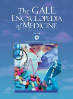 Cover image for The Gale encyclopedia of medicine