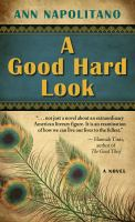 Cover image for A good hard look