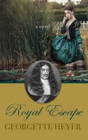 Cover image for Royal escape