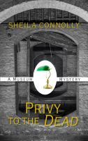 Cover image for Privy to the dead