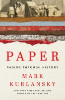 Cover image for Paper : paging through history